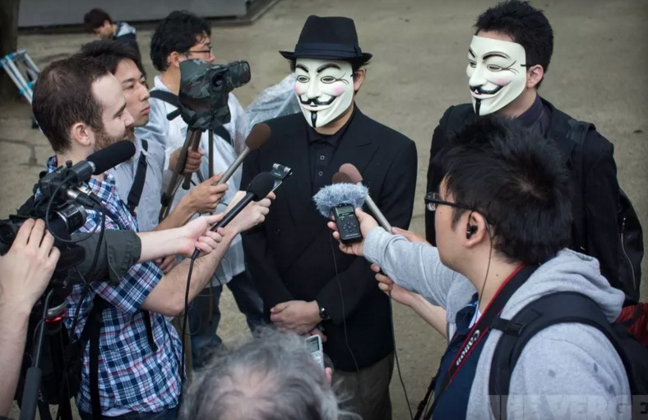 Anonymous, hacker, IS, ISIS, khung bo, khủng bố