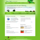 Theme Green field htm + css