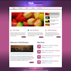 Theme pink business html + css