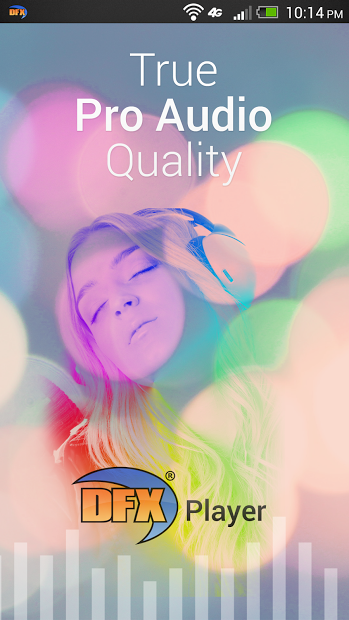 DFX Music Player Enhancer Pro for Android V.1.0.6