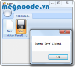 Easily Add a Ribbon into a WinForms Application (C#)