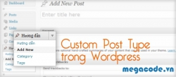 Custom Post Type trong Wordpress