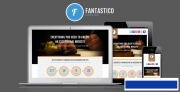 Template Fantastico - Coming Soon Template