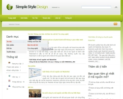 Theme simplestyle cho Nukeviet